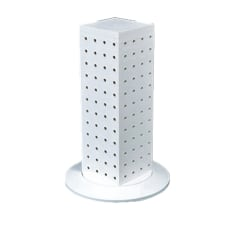 Azar Displays 4 Sided Pegboard Counter