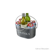 Mind Reader Beverage Holder With Bottle