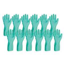 ProGuard Flock Lined Nitrile Gloves Large