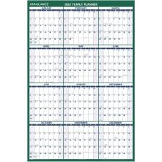 AT A GLANCE Erasable Wall Calendar