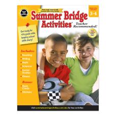 Carson Dellosa Summer Bridge Activities Workbook