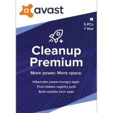 Avast CleanUp Premium 2020 5 PCs