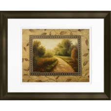 Timeless Frames Marren Espresso Framed Landscape