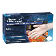 Protected Chef Vinyl General Purpose Gloves