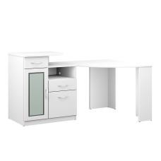 Bush Furniture Vantage Corner Desk Pure