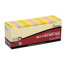 SKILCRAFT Self Stick Note Pads 1