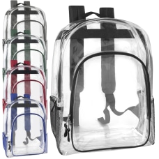 Trailmaker Clear Backpacks With Side Pockets