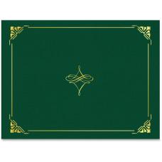 Geographics Gold Foil Border Certificate Holder
