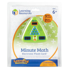 Learning Resources Minute Math Electronic Flash