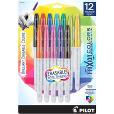 FriXion Colors Erasable Marker Pens 12