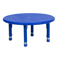 Flash Furniture 33 W Round Plastic