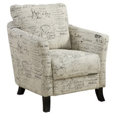 Monarch Specialties Natasha Accent Chair Beige