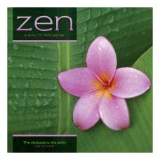 DateWorks Zen 16 Month Wall Calendar