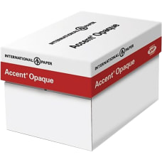 International Paper Accent Opaque Digital Smooth
