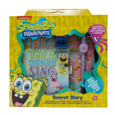 Inkology 6 Piece Diary Sets SpongeBob
