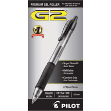 Pilot G 2 Retractable Gel Pens