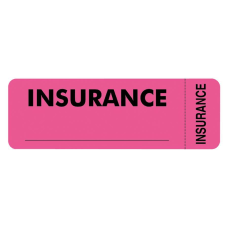Tabbies Permanent Insurance Label Roll TAB06420