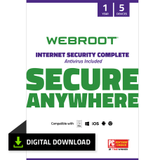Webroot Internet Security Complete With Antivirus