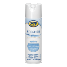 Zep Freshen Disinfectant Spray 155 Oz