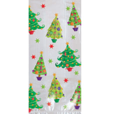 Amscan Christmas Tree Large Cellophane Party
