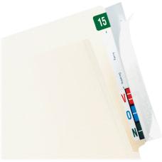 Tabbies Wrap Around Folder End Tabs