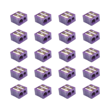 Baumgartens Dual Hole Plastic Pencil Sharpeners