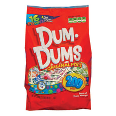 Dum Dum Pops Bag Pack Of