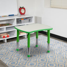 Flash Furniture 27 W Rectangular Plastic