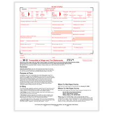 ComplyRight W 3 Transmittal Tax Forms