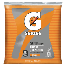 Gatorade Powdered Mix Pouches Orange 21