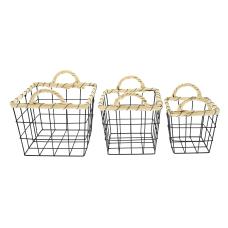 GNBI 3 Piece Wire Basket Set