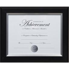 Dax 2 tone Silver Document Frame