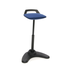 OFM Vivo Adjustable Perch Stool BlueBlack