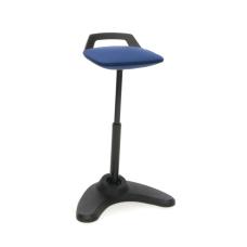 OFM Vivo Adjustable Perch Stool BlueBlack