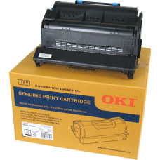 Oki 3612808 Black Toner Cartridge