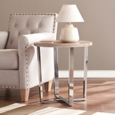 Southern Enterprises Elements End Table Round