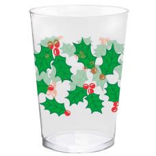 Amscan Christmas Plastic Tumblers 10 Oz
