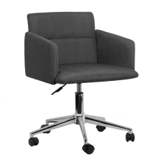 Glamour Home Aila Office Chair Gray