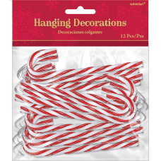 Amscan Christmas Candy Cane Hanging Decorations
