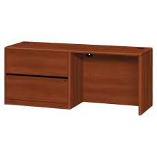 HON 10700 Series Laminate Left Pedestal