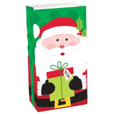 Amscan Christmas Treat Sacks 10 H