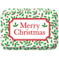 Amscan Christmas Rectangular Plastic Boxes 2