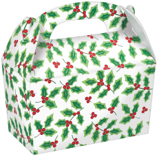 Amscan Christmas Large Gable Boxes 7
