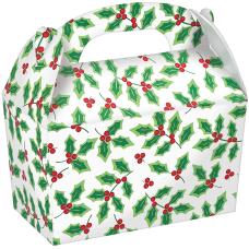 Amscan Christmas Large Gable Boxes 7