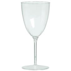 Amscan Premium Plastic Wine Glasses 8