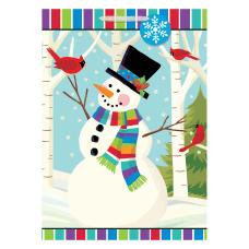Amscan Christmas Smiling Snowman Gift Bags