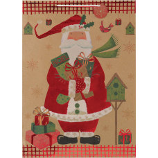 Amscan Christmas Jumbo Bags With Gift