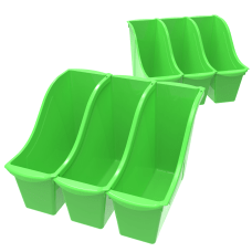 Storex Book Bins Medium Size Green