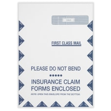 CMS Health Insurance Jumbo Envelopes 9