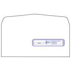 CMS Health Insurance Window Envelopes Box